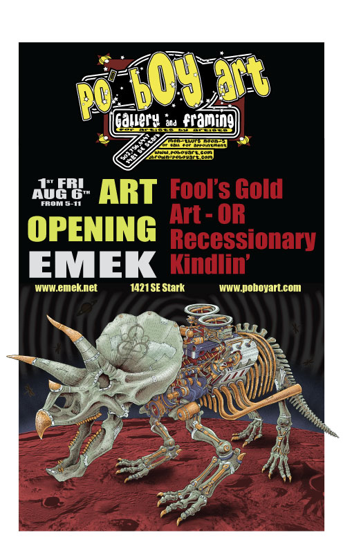 Portland First Friday With EMEK | Po' Boy Studios